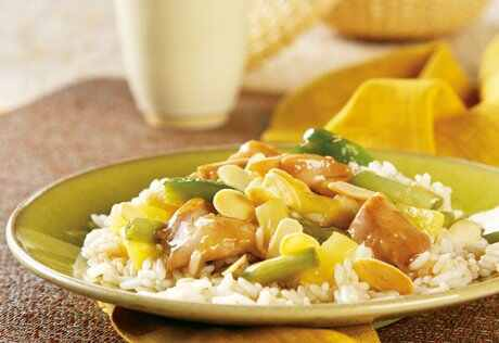 Slow Cooked Pacific Island Chicken And Rice