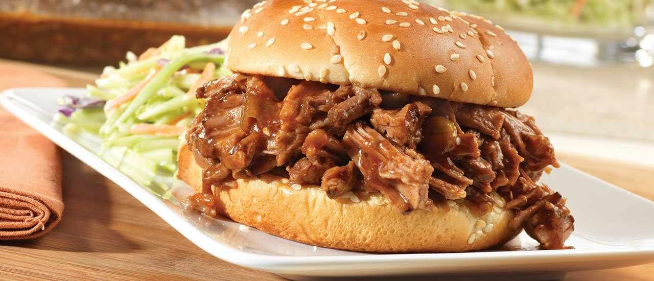 Slow Cooked Sweet& Spicy Barbecued Brisket