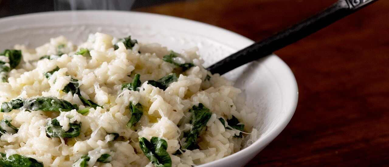 Simmered Italian Rice