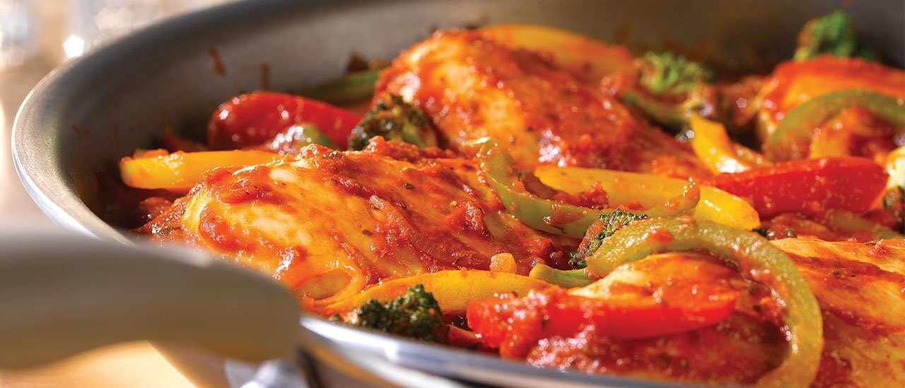 Italian-Style Chicken & Pepper Sauté