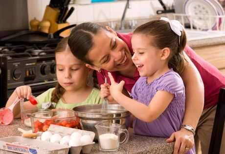 Family Fun: Cooking with Kids